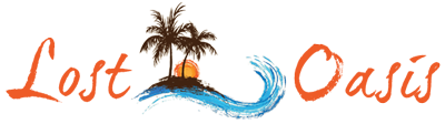 Lost Oasis Isla Mujeres Logo